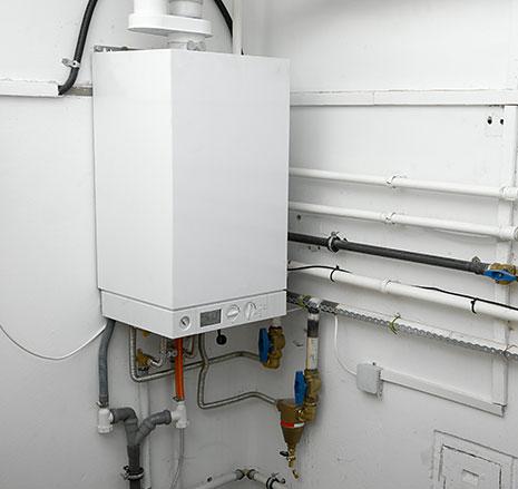 Installation chaudière à gaz à condensation