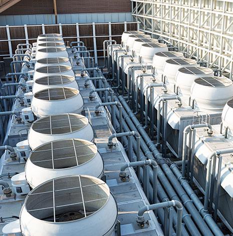Installation climatisation industrielle
